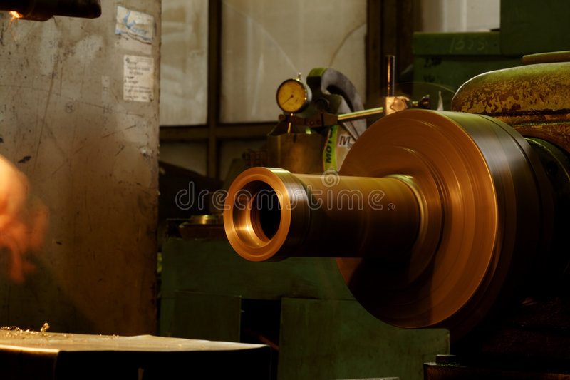 Factory stock image