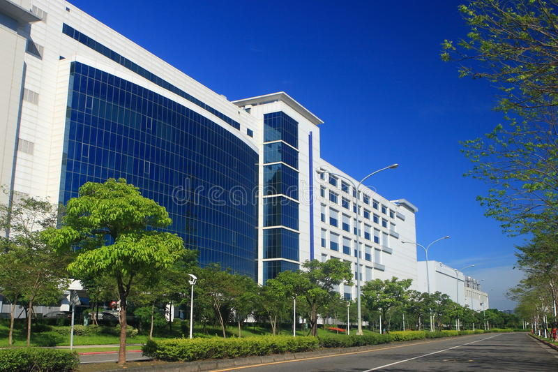 Download Factory building stock image. Image of skyscraper, property - 21985473