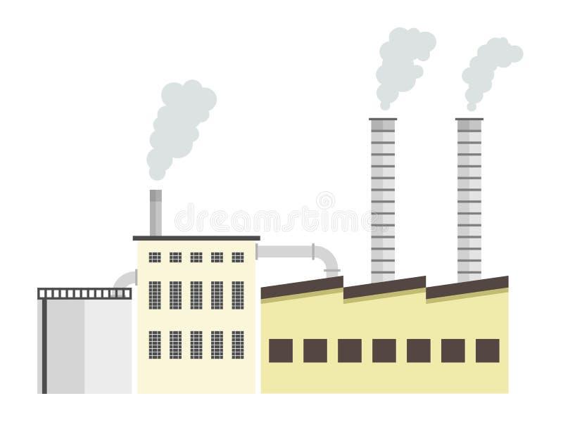 Factory royalty free illustration