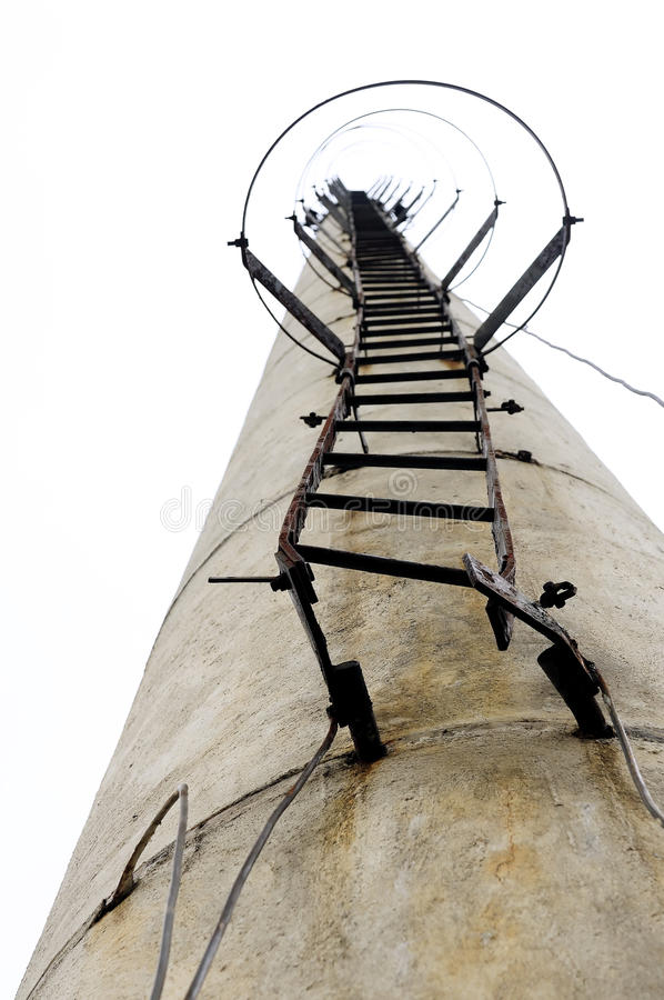 Factory chimney