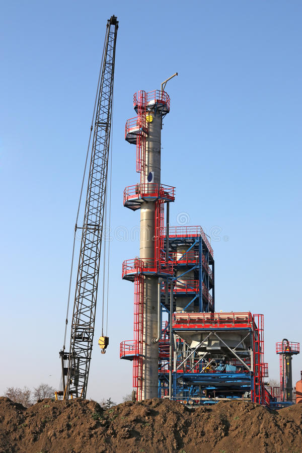 Download Factory construction site stock image. Image of distillery - 43421231