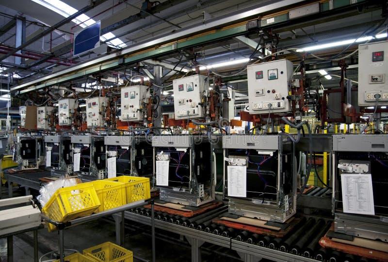 Download Factory - Dishwasher Production Stock Image - Image: 13771481