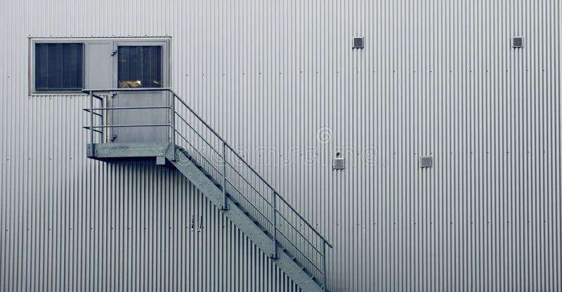 Factory Door Stock Photography