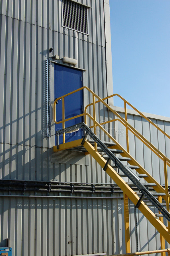 Download Factory door stock photo. Image of safety, exit, space - 7817256