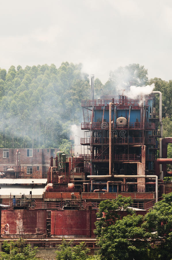 Download The Factory Emission Stock Photos - Image: 20550703