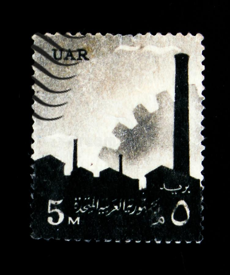 Factory Equipment And Gear National Symbols Serie Circa 1960