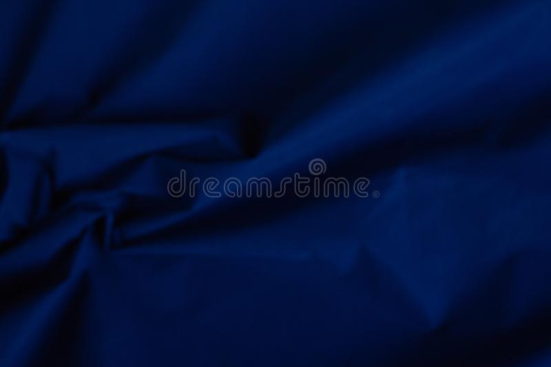 Factory fabric dark blue velvet texture royalty free stock images