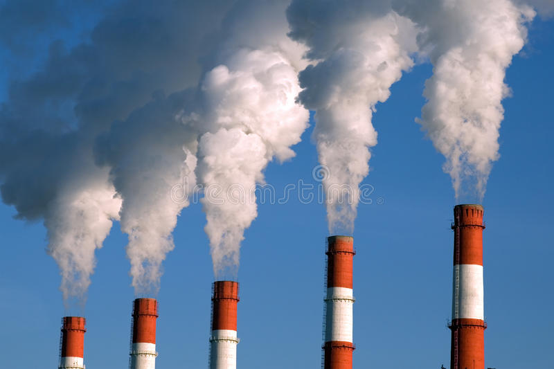 Factory Fumes Stock Photography Image 16991212