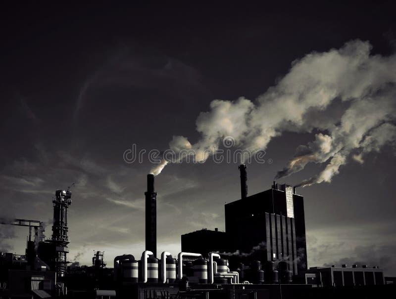 Download Smoking Factory Stock Photo - Image: 29721440