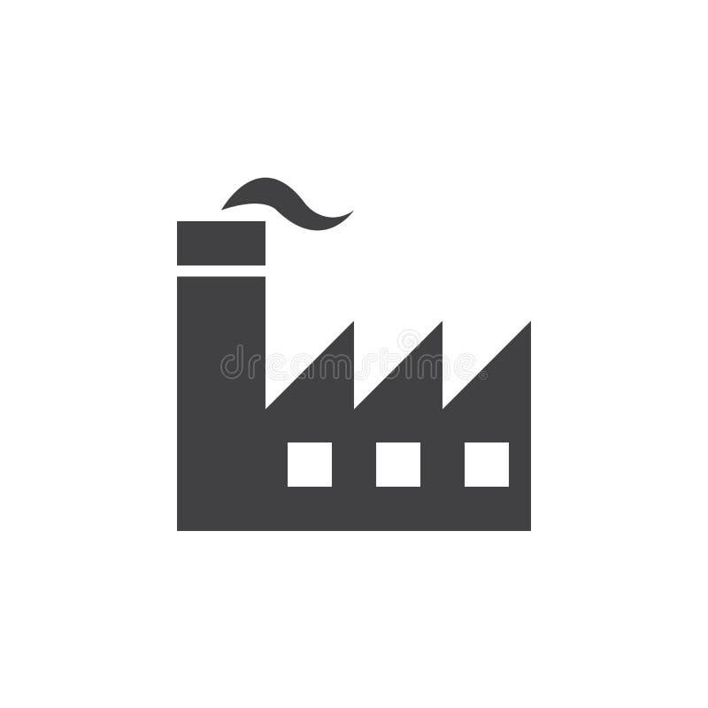 Factory icon , industry solid logo illustration, pictogram vector illustration