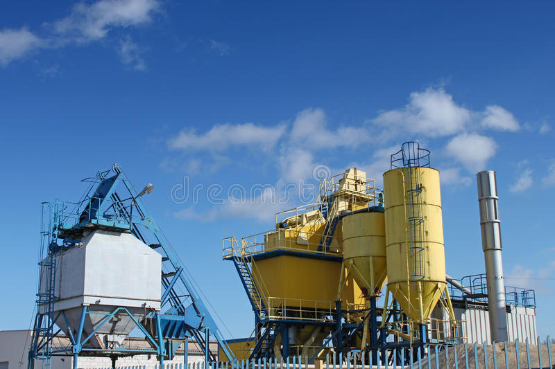 Factory, industrial shot. royalty free stock image