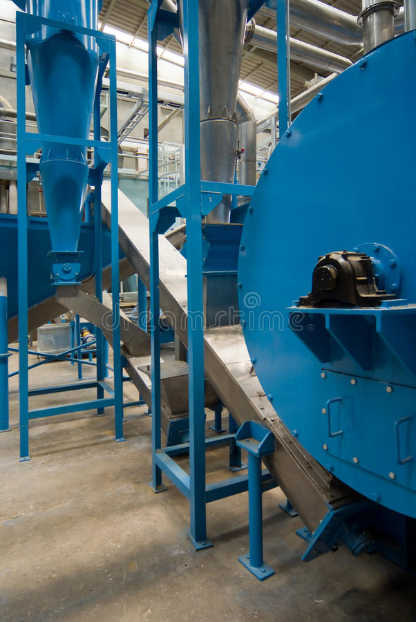 Factory Interior Stock Image