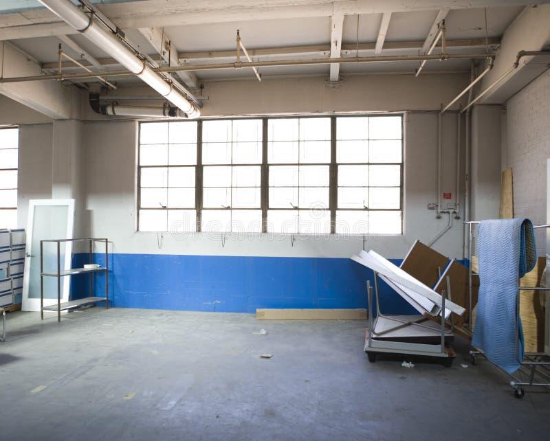 Factory storage royalty free stock photo