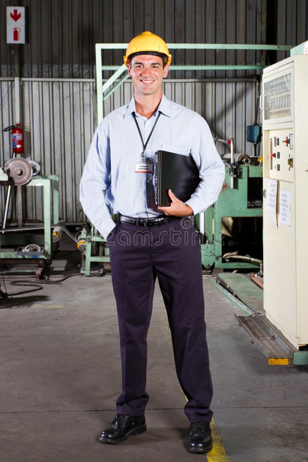 Download Factory Technical Manager Royalty Free Stock Photo - Image: 22991385