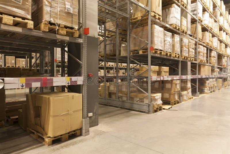 Factory warehouse stock image