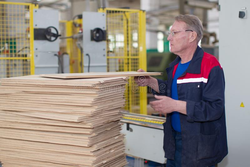 Factory worker royalty free stock image