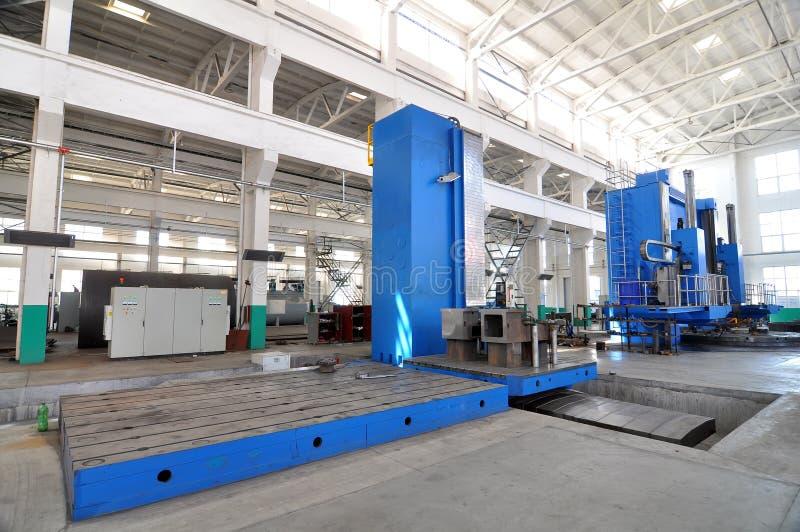 Factory workshop panorama