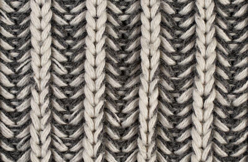 A factura de uma tela de lã fotografia de stock