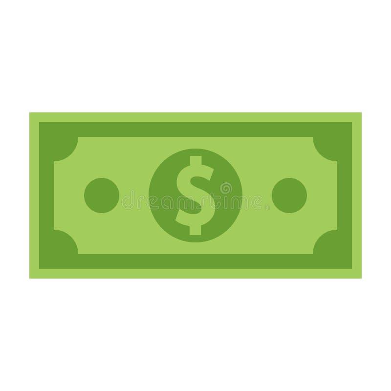 Facture d'argent d'isolement sur le fond blanc Illustration de vecteur illustration de vecteur