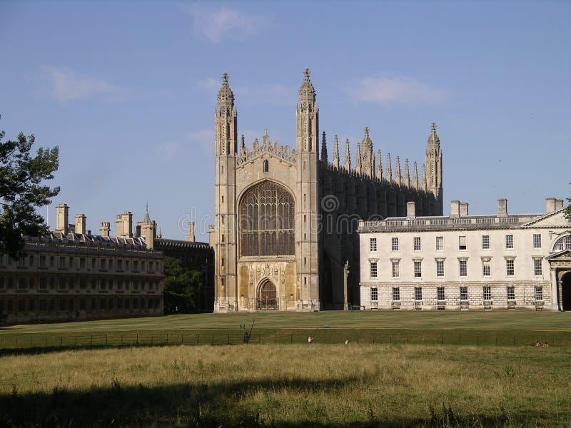 Faculdade Cambridge do rei foto de stock