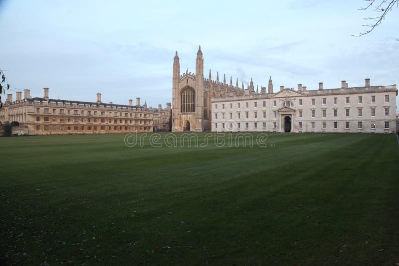 A Faculdade Cambridge Reino Unido do rei fotografia de stock royalty free