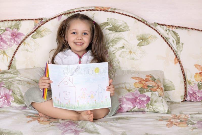 Faculdade criadora das crianças imagens de stock royalty free