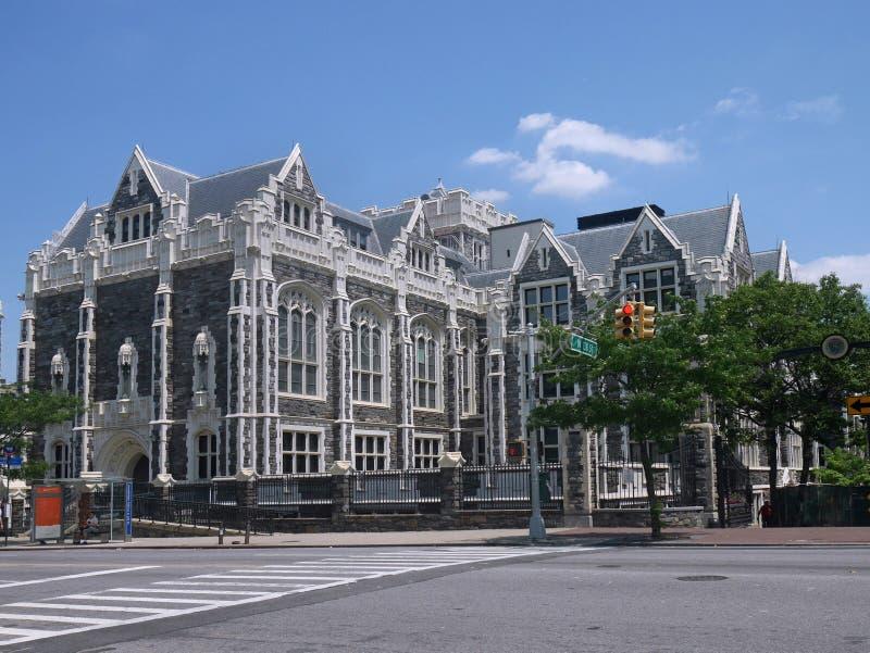 Faculdade da cidade de New York fotografia de stock