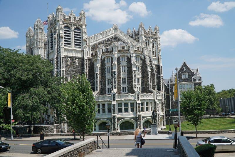 Faculdade da cidade de New York fotos de stock royalty free