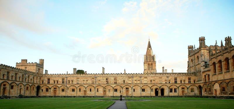 Faculdade da igreja de Christ, Oxford imagens de stock royalty free