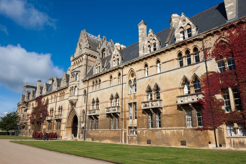 Faculdade da igreja de Christ. Oxford, Inglaterra imagens de stock