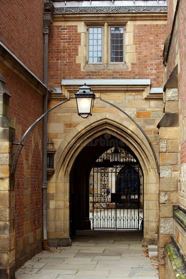 Faculdade de Jonathan Edwards foto de stock