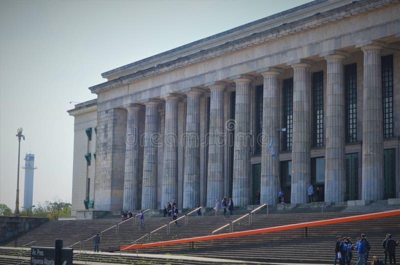 Faculdade de lei Universidade de Buenos Aires, Argentina fotografia de stock royalty free