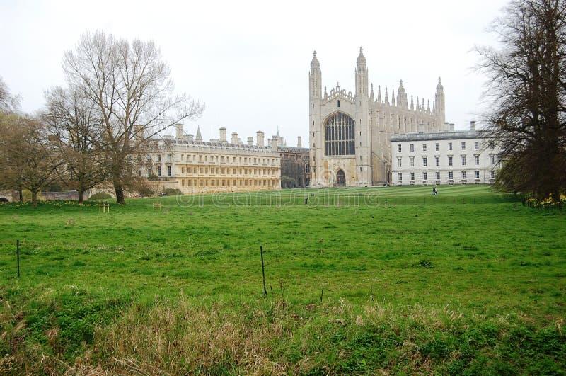 Faculdade do `s do rei, Cambridge imagens de stock royalty free