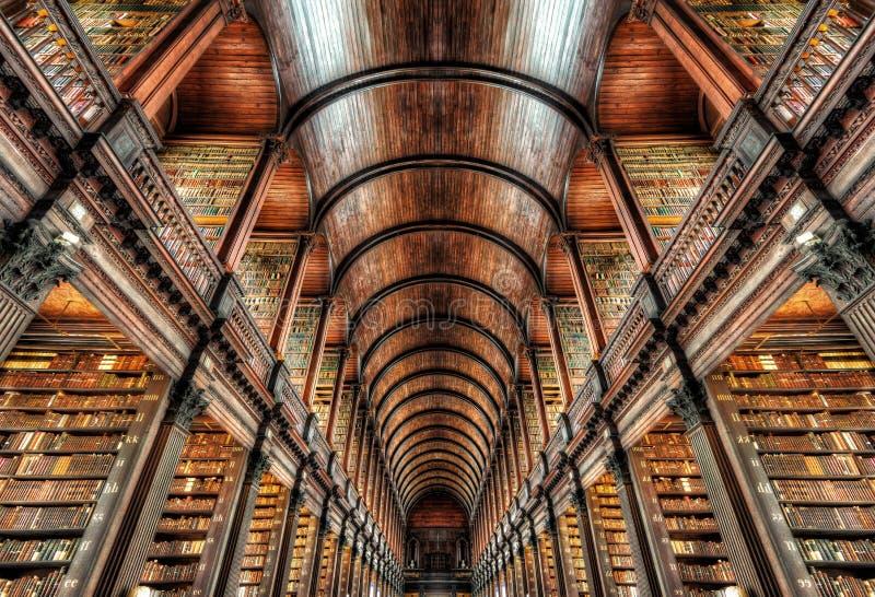 Faculdade Dublin da trindade, Irlanda imagem de stock royalty free