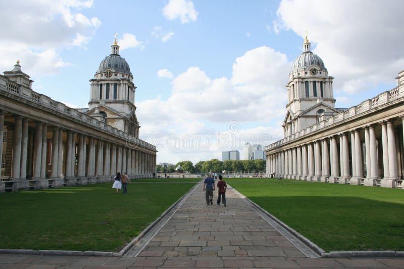 Faculdade naval real, Greenwich fotos de stock royalty free