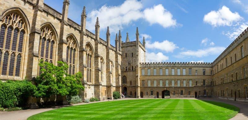 Faculdade nova, Oxford, Inglaterra fotografia de stock