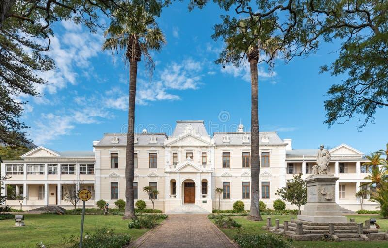 Facultad de teología de la universidad de Stellenbosch foto de archivo