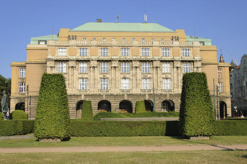 Faculty of Arts and Philosophy of Charles University royalty free stock photography