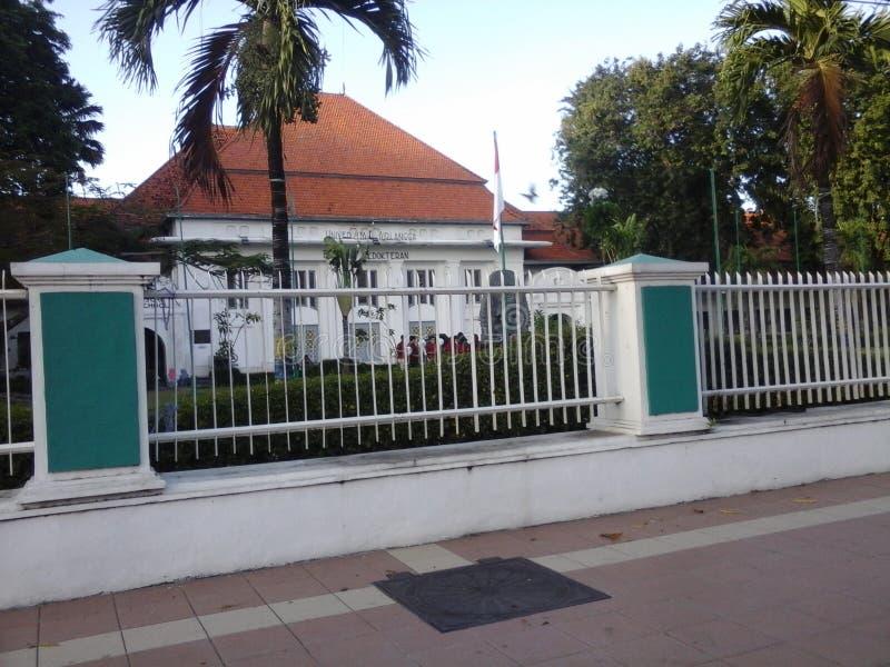 Faculty of Medicine, Airlangga University, Indonesia royalty free stock image