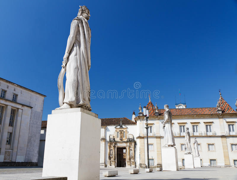 Faculty Of Philosophy, Coimbra Royalty Free Stock Photography