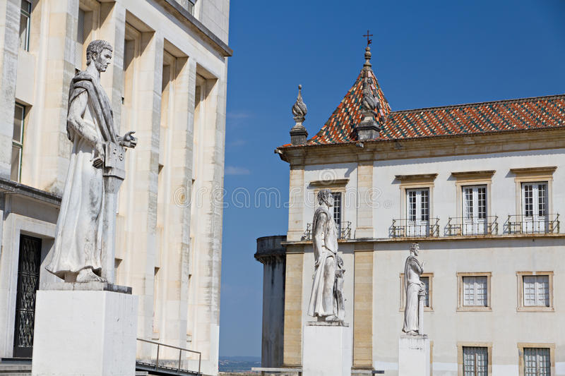 Faculty of Philosophy, Coimbra. Faculty of Philosophy at University of Coimbra, Portugal / Faculdade de Letras, Universidade de Coimbra, Portugal stock images