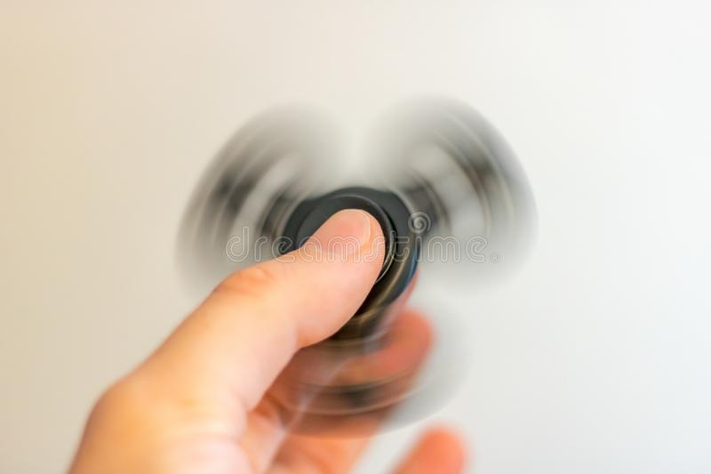 Spinning Fidget Spinner stock photography