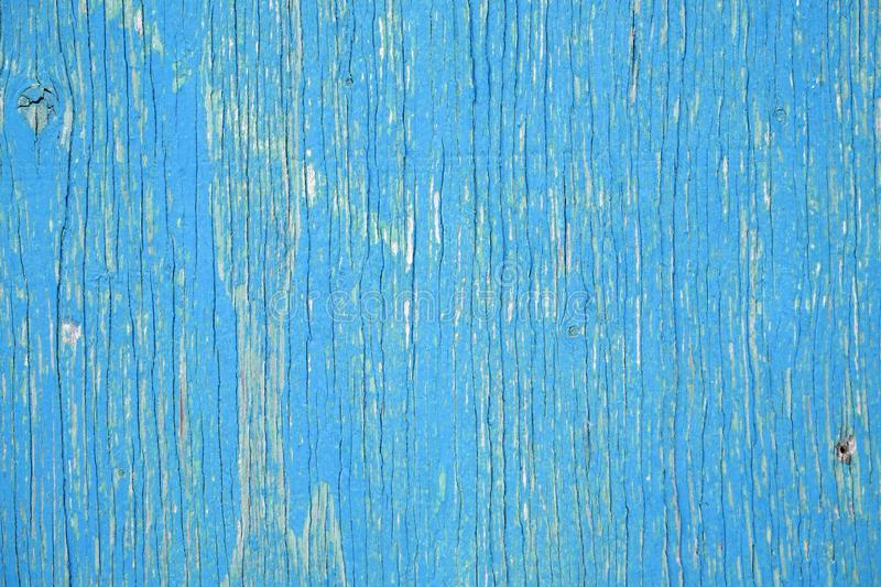 Faded Blue Wood Surface #2 stock images