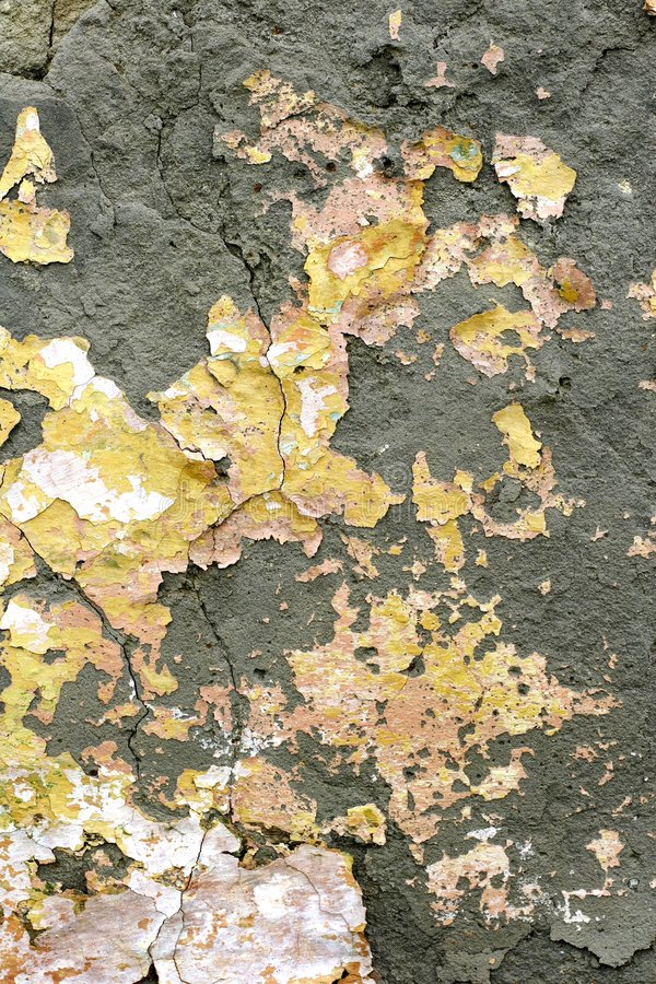 Faded peeling paint royalty free stock images