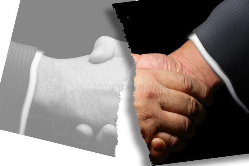 Download Faded relationship stock illustration. Illustration of handshake - 476102