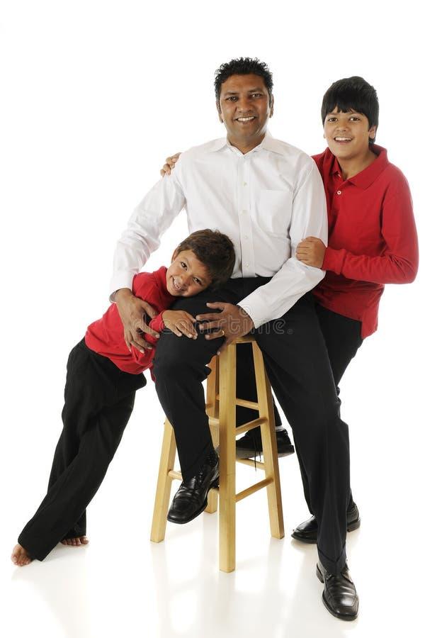 Fader och Sons royaltyfria bilder