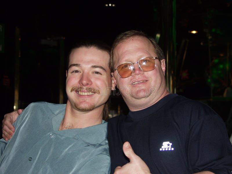 Fader & son på Criuse royaltyfria bilder