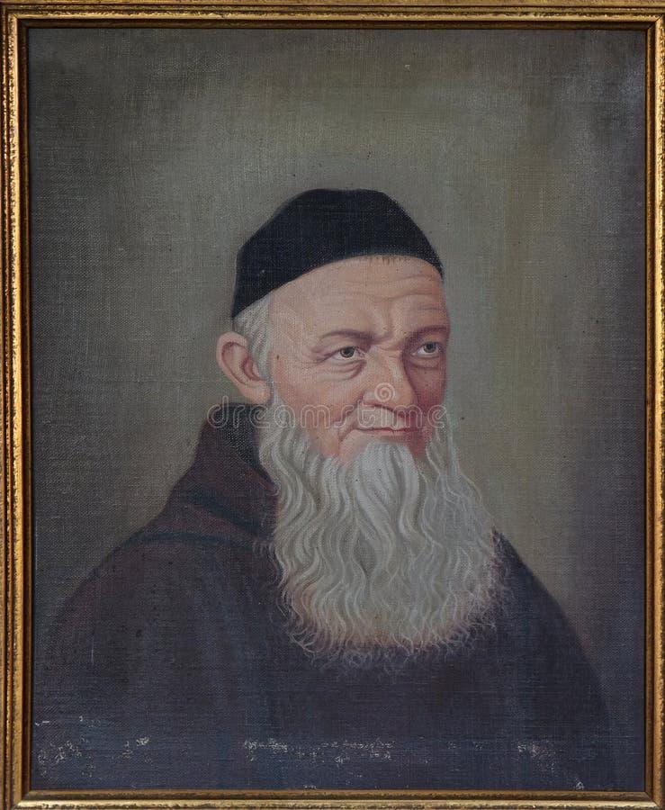 Fader Theodosius Florentine arkivfoton