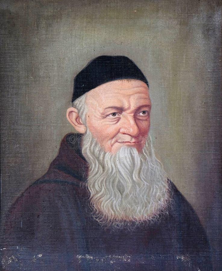Fader Theodosius Florentine arkivbilder