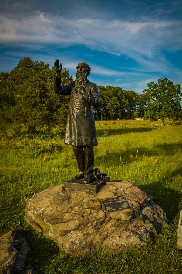 Fader William Corby Statue royaltyfri foto